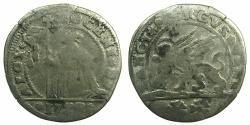 World Coins - ITALY.VENICE.Alvise Mocenigo III 1722-1732.Billon 15 soldi 1722.