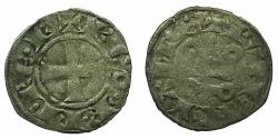 World Coins - FRANCE.PROVENCE.COMPTE DE PROVENCE.Charles I of Anjou AD 1246-1286.Billon Denier.2nd Type. RARE.
