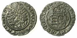 World Coins - HUNGARY.Matthias II AD 1612-1619.AR.Denar.1613.Mint of KREMNITZ. *** Virgin and child within aureola  ***