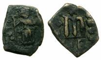 Ancient Coins - BYZANTINE.Constans II AD 641-668.AE.Follis.