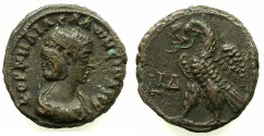 Ancient Coins - EGYPT.ALEXANDRIA.Cornelia Salonina, wife of Gallienus AD 253-268.Billon Tetradrachm, struck AD 266/67.