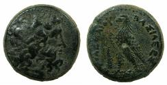 Ancient Coins - PTOLEMAIC EMPIRE.PHOENICIA:TYRE.Ptolemy III Euergetes I 247-220 BC. AE.22.9mm.