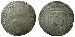 World Coins - ITALY.URBINO.Francesco Maria II Della Rovere 1574-1624.AR.Guilio.~~~Saint Frances recieving the Stigmata.