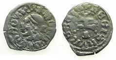 World Coins - HUNGARY.Louis I The great AD 1342-1382.AR.Dinar. Moors head