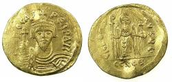 Ancient Coins - BYZANTINE EMPIRE.Phocas AD 602-610.AV.Solidus. Mint of CONSTANTINOPLE.