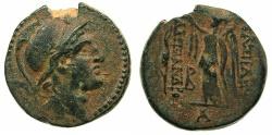Ancient Coins - SELEUCID EMPIRE.Alexander I Balas 150-145 BC.AE.18.4mm. Mint of ANTIOCH.~#~.Nike.