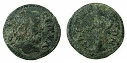 Ancient Coins - LYDIA.MAGNESIA AD SIPYLUM.Pseudo Autonomou circa 2nd-3rd cent AD.AE.18.6mm. Mount Sipulos personified as a beadrd male.