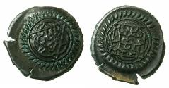 World Coins - TURKEY.OTTOMAN EMPIRE.Abdulhamid I 1187-1203H ( AD 1774-1789 ).AE.Bakir. 1188H. Mint of Trablusgarp. ( Tripoli, Libya ). Exceptional for issue, possibly a trial strike.