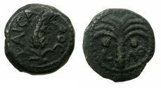 Ancient Coins - JUDAEA.Procurators. Marcus Ambibulus AD 9-12 under Augustus.AE.Prutah, Year 39 ( AD 8/9 )
