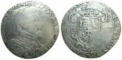 World Coins - ITALY.SAVOY.Carlo Emmanuel II AD 1580-1630.AR.Ducatone (1603, 1604 or 1608).  *****VERY RARE ****