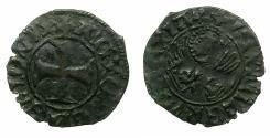 World Coins - CRUSADER.GREECE under VENICE.Antonio Venier AD 1382-1400.Bi.Tornesello.