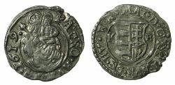World Coins - HUNGARY.Matthias II H.R.E. AD 1612-1619.AR.Denar.1619.Mint of KREMNITZ.