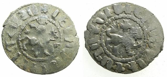 Ancient Coins - ARMENIA.Levon IV 1320-1342.AR.Takvorin.Sigla J-M.Mint of Sis.