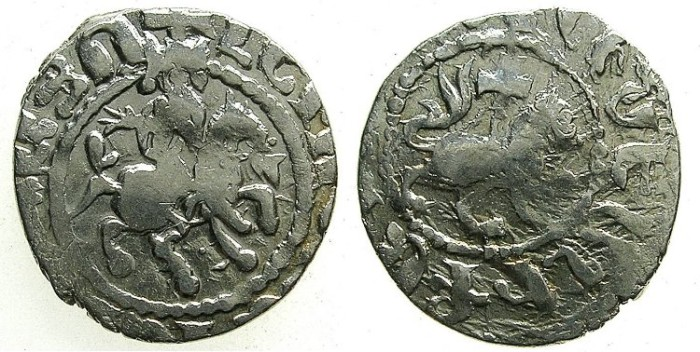 Ancient Coins - ARMENIA.Levon IV 1320-1342.AR.Takvorin.Mint of Sis