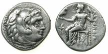 Ancient Coins - MACEDONIAN EMPIRE.Alexander III The Great 336-323.AR.Drachma, posthumus issue circa 319-305 BC.Mint of MAGNESIA AD MAEANDRUM.