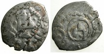 World Coins - CRUSADER.CAFFA. Genoese colony.Filippo Maria Visconti AD 1421-1435 naming Devlet Birdi Khan AD 1420-1421.AR.Bi-lingual Asper.