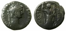 Ancient Coins - EGYPT.ALEXANDRIA.Nero AD 54-68.Billon Tetradrachm, struck AD 57/58 .~#~.Demos of The Romans.