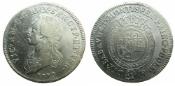 World Coins - SAVOY.Victor Amadeo III AD 1773-1796.AR.Mezzo Scudo 1773. Mint of TURIN.****First date of issue ****