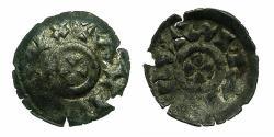 World Coins - ITALY.VENICE.Orio Malipiero AD 1178-1192.AR.Denaro Scodellato ( Scyphate).