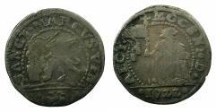 World Coins - ITALY.VENICE.Alvise Mocenigo III AD 1722-1732.AR.10 Soldi.1722