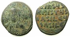 Ancient Coins - BYZANTINE EMPIRE.Anonymous Follis.class A3.Mint of CONSTANTINOPLE.