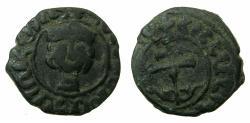 World Coins - ARMENIA.Hetoum II AD 1289-93,1295-96 and 1301-06.AE.Kardez.Mint of Sis