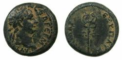 Ancient Coins - SELEUCIS AND PIERIA.ANTIOCH.Trajan AD 98-117.AE.15.6mm.struck AD 98/99.