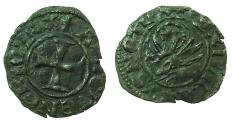 World Coins - CRUSADER.GREECE under VENICE.Antonio Venier AD 1382-1400. Bi.Tornesello.