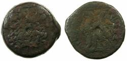 Ancient Coins - PTOLEMAIC EMPIRE.EGYPT.ALEXANDRIA.Ptolemy VI Philometor 180-145 BC,Joint reign with Ptolemy VIII 170-164/3 BC.AE.32.7mm.***Issue without cornucopiae or control letter.