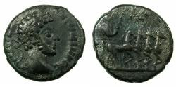 Ancient Coins - EGYPT.ALEXANDRIA.Commodus Augustus AD 176-192.Billon Tetradrachm, struck AD 180/81. Emperor in quadriga