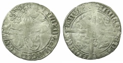 World Coins - ARNHEM.Reinold IV AD 1402-1423.AR.Dopplegroot.
