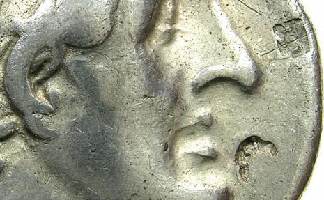 Ancient Coins - PTOLEMAIC EMPIRE.EGYPT.ALEXANDRIA.Ptolemy II Philadelphus 285-246 BC.AR.Tetradrachm, struck circa 287/6 BC