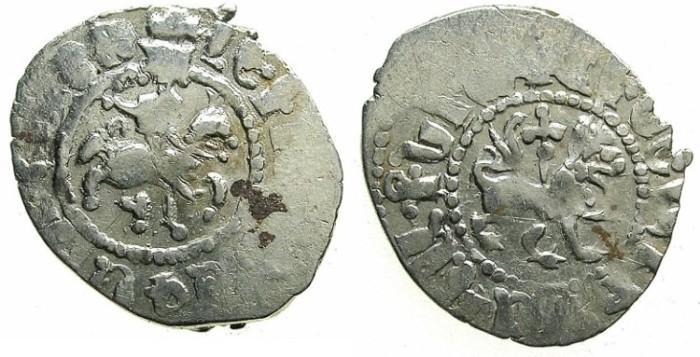 Ancient Coins - ARMENIA.Levon IV 1320-1342.AR.Takvorin.Sigla O.Mint of Sis.