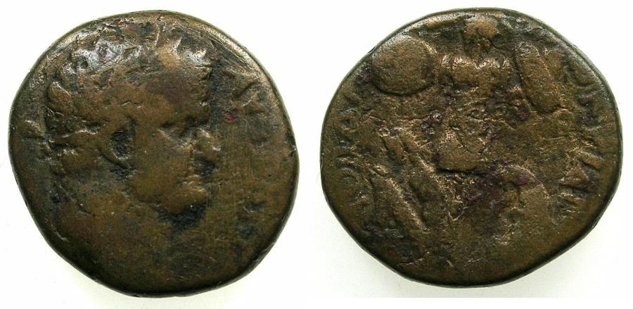 Ancient Coins - JUDAEA.Caesarea Maritima.TitusAD 79-81.AE.23.4mm.