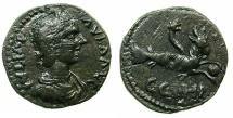 Ancient Coins - MYSIA.PARIUM.Julia Paula Augusta AD 219-220.AE.21.8mm. ~#~.Capricorn.