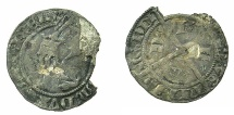 World Coins - FLANDERS.William II of Julich AD1371-1402.AR.1/4 Groot.****Rare denomination, good space filler****