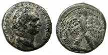 Ancient Coins - SYRIA.SELEUCIS AND PIERIA.ANTIOCH MINT.Vespasian AD 69-79.AR.Tetradrachm,Group 4.struck AD 69/70