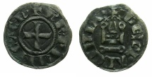 World Coins - CRUSADER STATES.GREECE.Principality of ACHAIA.Charles I or II of Anjou AD 1278-1285-1289.