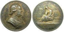 World Coins - ENGLAND.AR.Medallion, Death of John Murry 1660-1724, 1st Duke of Athol.by KIRK.**** A RARE SILVER MEDALLION BY KIRK****