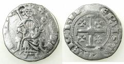 World Coins - CRUSADER STATES.CYPRUS.Henry II AD 1285-1324.AR.Gros Petit.2nd Series.