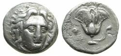 Ancient Coins - CARIA, Island off. RHODES.Circa 305-275.AR.Didrachma.