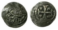World Coins - AUSTRIA.SALZBURG.Episcopal.Eberhard von Hippostein and Bilberg AD 1147-1164.AR.Pfenning