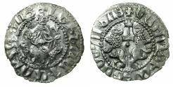 World Coins - CILICIAN ARMENIA.Levon I AD 1198-1219.AR.Tram. Class IV. Obverse LEVN for LEVON