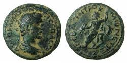 Ancient Coins - GALATIA.TAVIUM.Antoninus Pius AD 138-161.AE.26mm. Reverse.Zeus of Tavium. ***Rare, date not recorded in RPC***