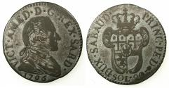 World Coins - ITALY.SAVOY.Vittorio Amedeo III AD 1773-1796.Billon 20 Soldi 1796. ***final year of reign ***
