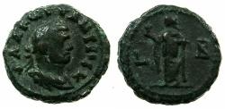 Ancient Coins - EGYPT.ALEXANDRIA.Constantius Chlorus Caesar AD 293-305.Billon Tetradrachm, struck AD 293/94.~#~.Elpis.