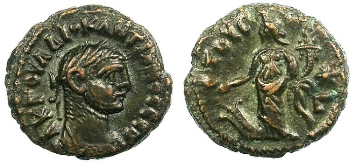 Ancient Coins - EGYPT ALEXANDRIA.Diocletian  AD 284-296.Bi.Tetradrachma.Tyche standing.