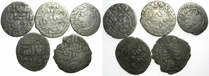 Ancient Coins - ARMENIA.AR.Takvorins overstrike by Mamluk Sultan Al Nasir Nasir al-din Muhammad , 3rd period AD 1310-1341.