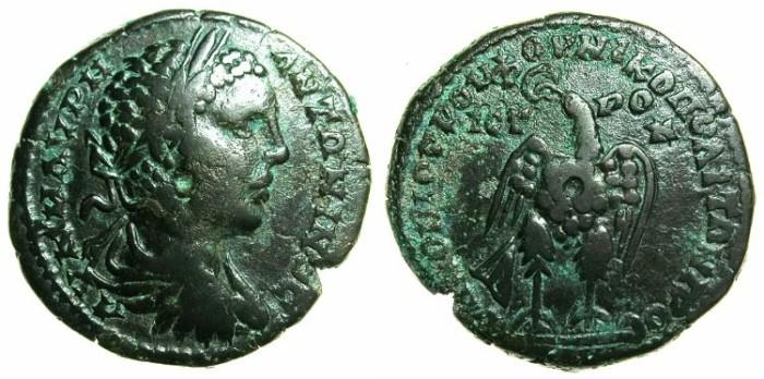 Ancient Coins - MOESIA INFERIOR.NIKOPOLIS AD ISTRUM.Elagabalus AD 218-222.AE.25.9mm.~#~.Eagle