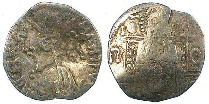 Ancient Coins - SERBIA.Stefan VIII Uros IV Dusan , as Emperor 1346-1355.AR.Dinar.